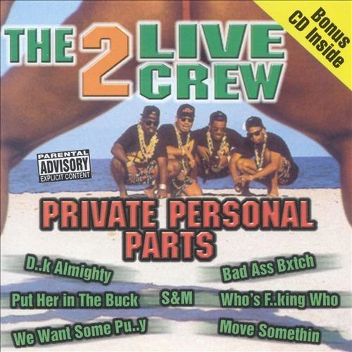 Private Personal Parts [CD] [PA]