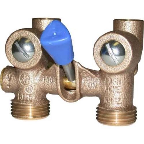 Cash Acme 1/2 in. WM-2 Copper Sweat Washing Machine Shut-Off Valves