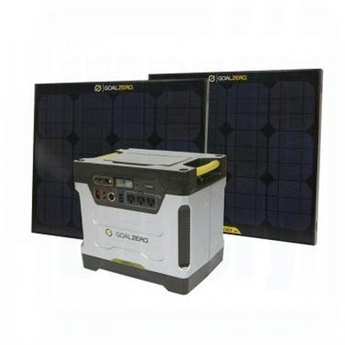 Goal Zero Yeti 1250 Solar Generator Kit with Boulder 30 Solar Panels