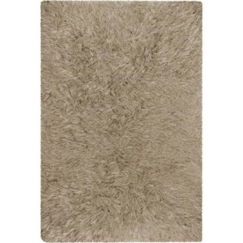 Chandra Celecot Taupe 7 ft. 9 in. x 10 ft. 6 in. Indoor Area Rug
