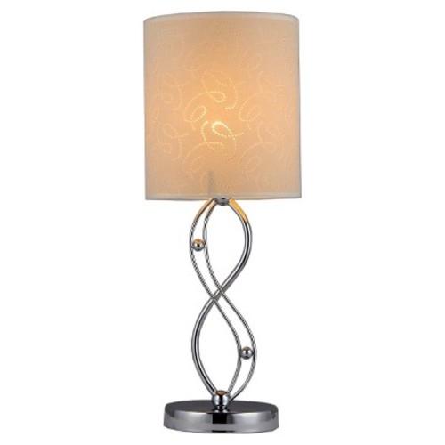 Warehouse Of Tiffany Table Lamp - Silver