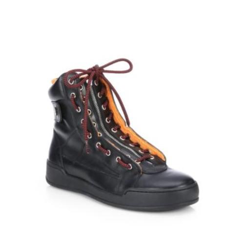 Vitello Sport High-Top Boots
