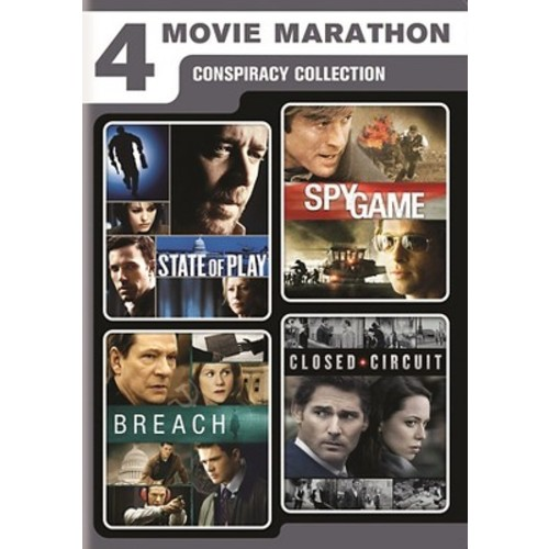 4 movie marathon:Conspiracy collectio (DVD)