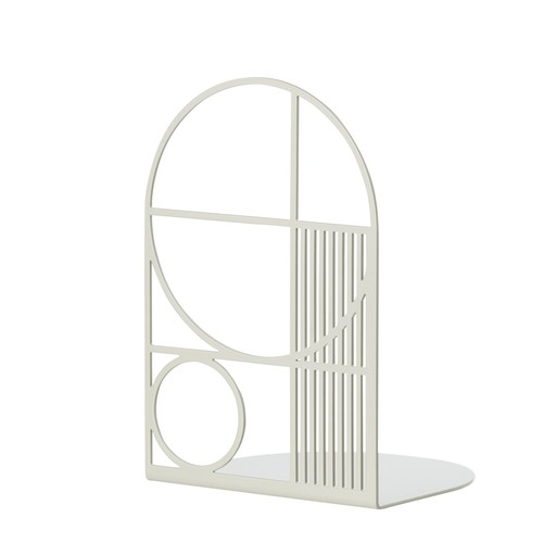 Outline Bookend in Grey design by Ferm Living