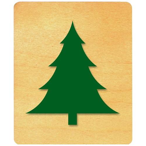 Ellison Prestige SureCut Die, Plants & Flowers, Large, Christmas Tree #1