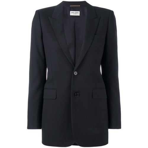 SAINT LAURENT Peaked Lapel Blazer