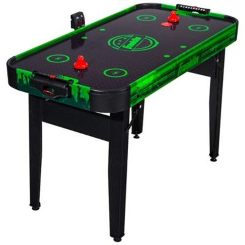 Franklin Sports 48-Inch Authentic Air Hockey Table in Black/Green