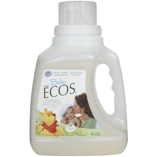 Earth Friendly Baby ECOS Disney Laundry Detergent Free and Clear -- 50 fl oz