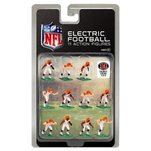 Tudor Games Cincinnati Bengals White Uniform NFL Action Figure Set