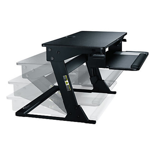 3M Precision Standing Desk, Black
