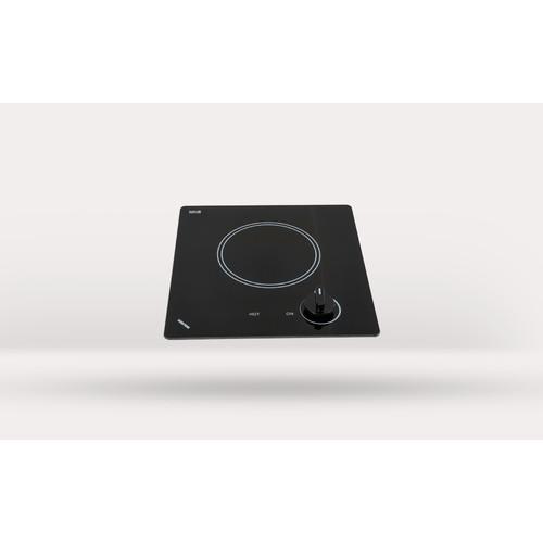 Kenyon B41605 6-1/2-Inch Caribbean Single Burner Cooktop with Analog Control UL, 120-volt, Black