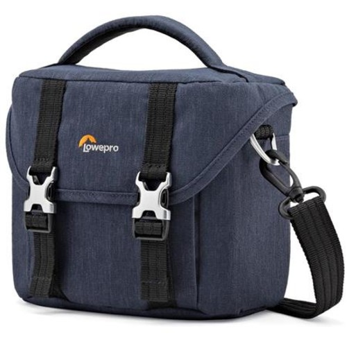 Lowepro Scout SH 120 Shoulder Bag for Mirrorless Camera Kit, Slate Blue LP36931