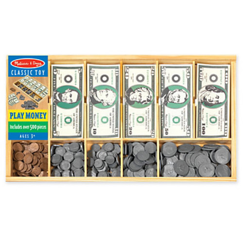 Melissa & Doug Play Money Set, Pre-K - Grade 2