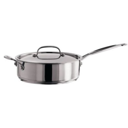 Cuisinart Chef's Classic 5.5 qt. Stainless Steel Saute Pan With Handle and Cover, Silver