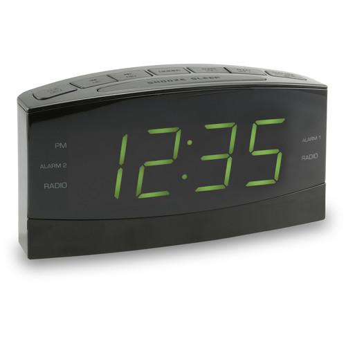 GPX C336B Clock Radio with AM/FM Radio