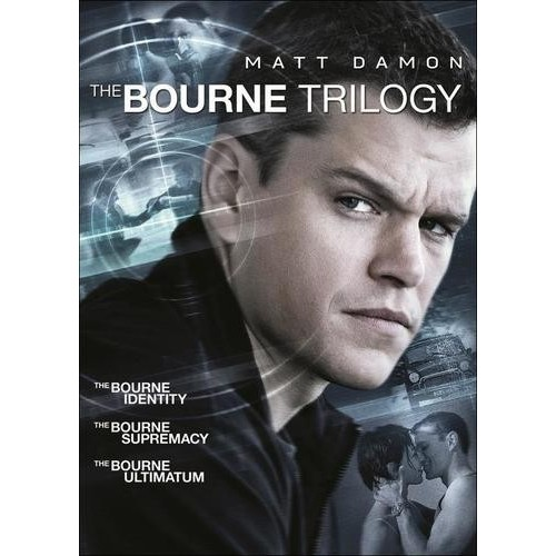 The Bourne Trilogy [3 Discs] [DVD]