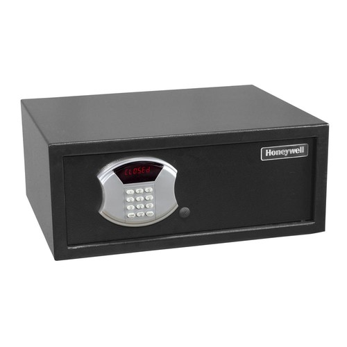 Honeywell 1 cu. ft. Low Profile Steel Security Safe with Digital Lock, Black