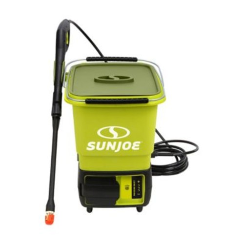 Sun Joe 1160 PSI ION Cordless Pressure Washer in Green