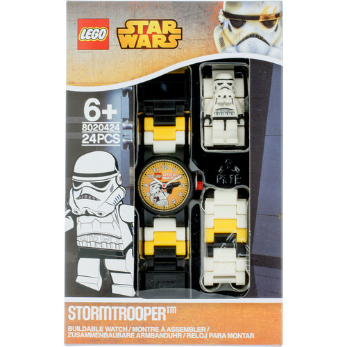 LEGO Watches Star Wars Stormtrooper Kids Minifigure Link Buildable Watch