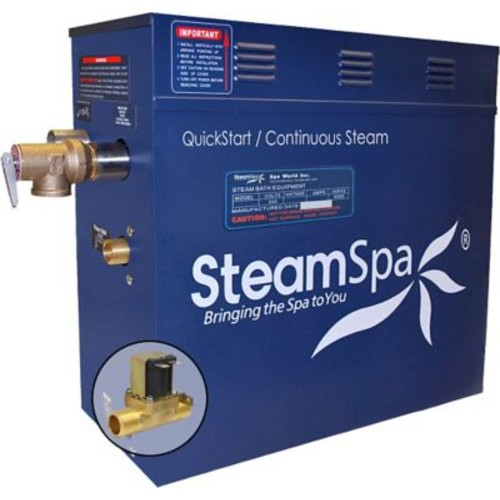 Steam Spa 10.5 kW QuickStart Steam Bath Generator w/ Built-in Auto Drain