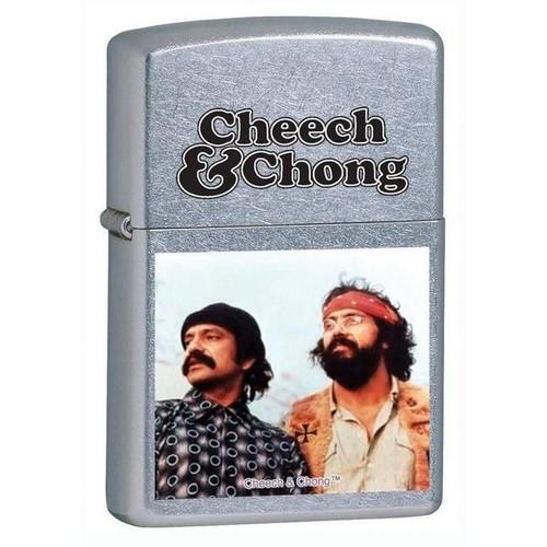 ZIPPO CHEECH & CHONG - STREET CHROME [Title :]