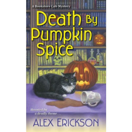 Death by Pumpkin Spice (Bookstore Cafe Series #3)