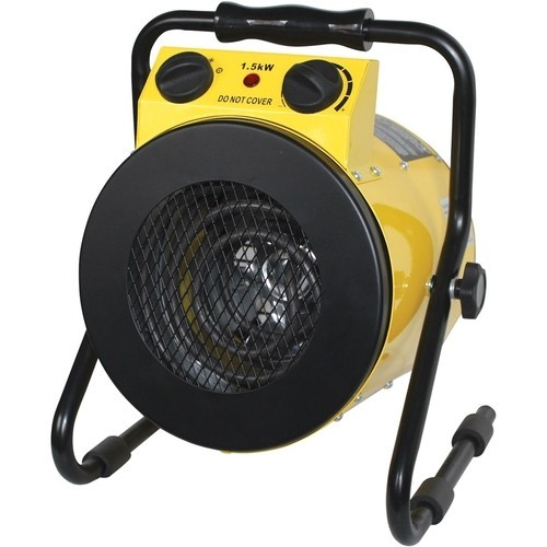 Royal Sovereign - Electric Fan Heater - Black/yellow