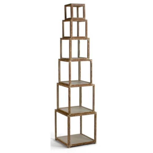 Piece Risers Cube Unit Bookcase