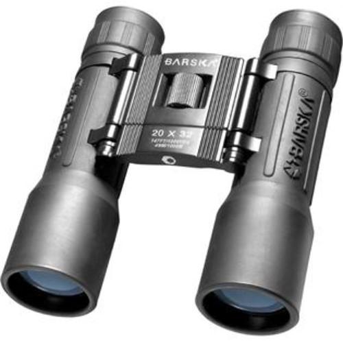 Barska Lucid View Compact Binocular in Black w Blue Lens 20 x 32