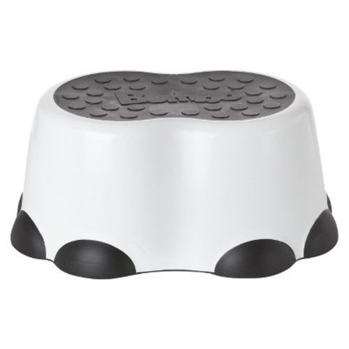 Bumbo Step Stool -White & Black