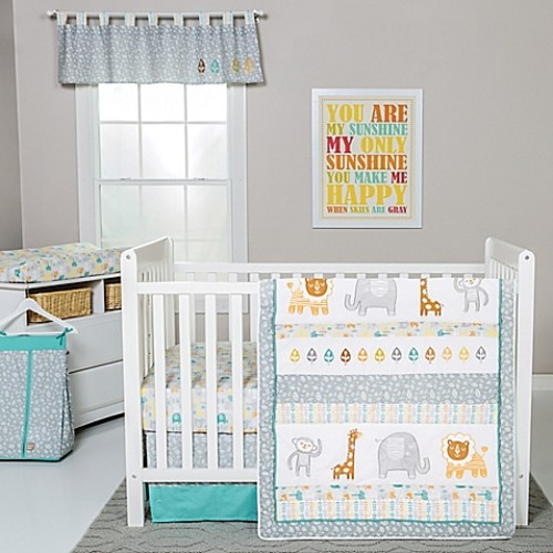 Trend Lab Lullaby Jungle Crib Bedding Collection
