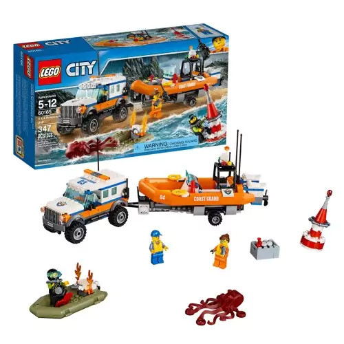 LEGO(R) City Coast Guard 4 x 4 Response Unit (60165)