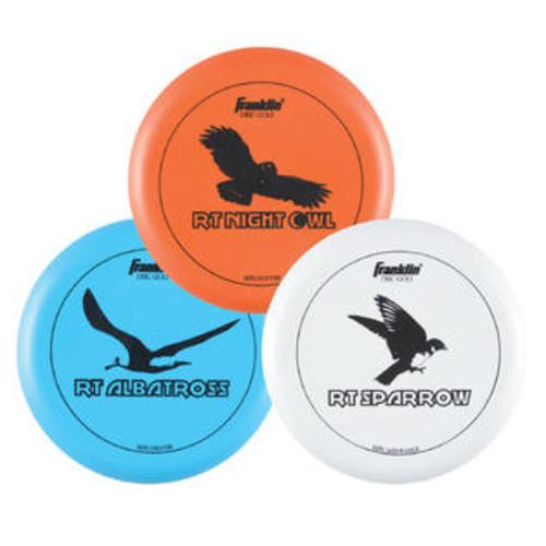 Franklin Sports 3 Piece Golf Disc Set - 52303S4
