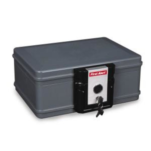 First Alert 0.17 cu. ft. Capacity Waterproof and Fire Resistant Safe
