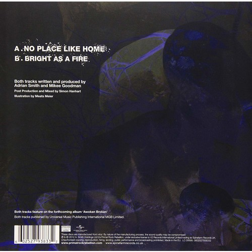 No Place Like Home / Bright As a Fire