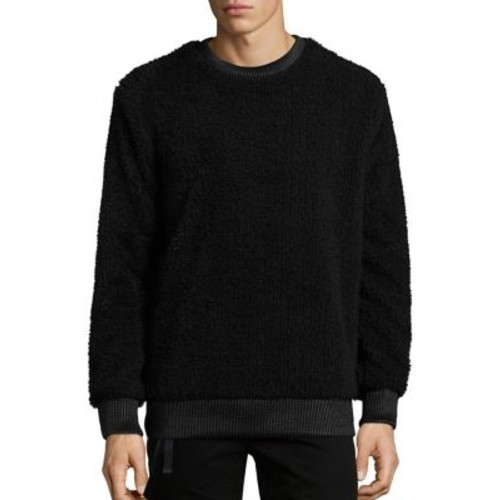 HELMUT LANG Sherpa Side Zip Sweatshirt