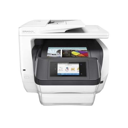 HP Officejet Pro 8740 All-in-One Printer  Print, Copy, Fax, Scan, Ink-Jet Color, 1200dpi, Up to 36ppm, 4.3 Color Touch Display, RJ-11, LAN, Wi-Fi, USB 2.0, USB Host, NFC, MAC & Windows - K7S42A#B1H