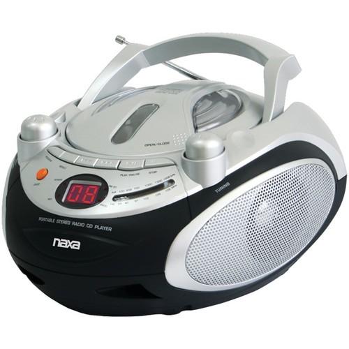 NAXA NPB245 Portable CD Player & AM/FM Radio
