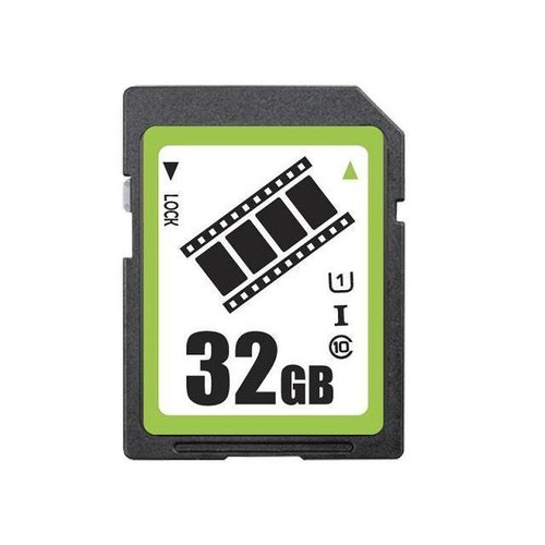 FilmPro 32GB SD SDHC Card Class 10 Ultra High Speed UHS-I