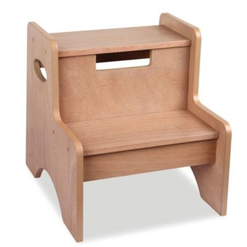 Wildkin Kid's Two Step Stool in Oak