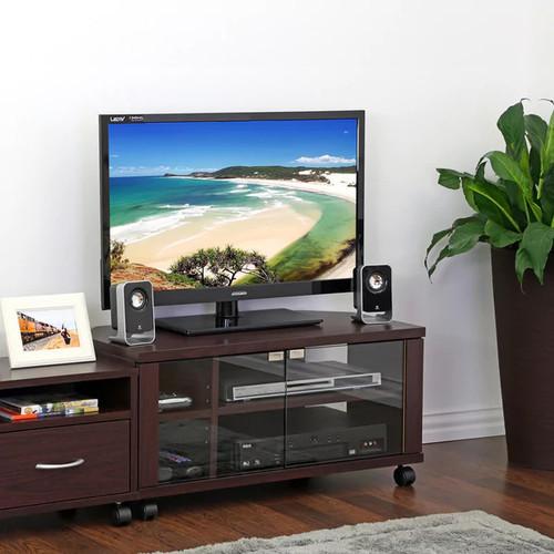 Furinno TV Stands & Entertainment Centers Furinno Indo Espresso TV Media Console