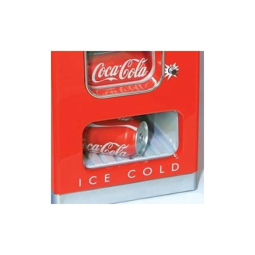 Koolatron Coca-Cola 10-Can Retro Vending Fridge