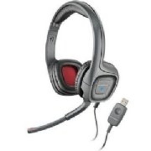 Plantronics Audio 655 USB Multimedia Headset with Noise Canceling Microphone for PC and Mac [Standard Packaging]