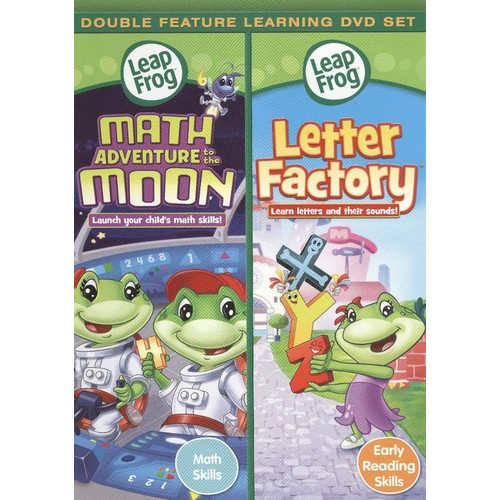 LeapFrog: Math Adventure to the Moon/Letter Factory [DVD]
