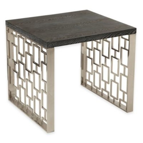 Toronto Accent Table in Charcoal