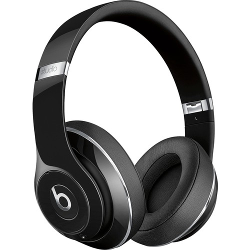 Beats by Dr. Dre - Geek Squad Certified Refurbished Beats Studio Wireless Over-Ear Headphones - Gloss Black