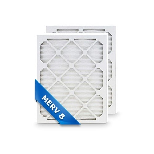 Replacement Pleated Air Filter for 16x24x1 Merv 8 (2-Pack)