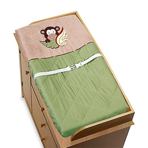 Sweet Jojo Designs Monkey Time Changing Pad
