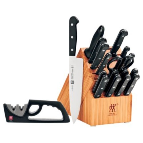 Zwilling Gourmet 18-Piece Kitchen Knives Block Set