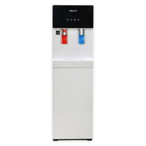 Air Pure Spring Bottom-Loading Hot and Cold Water Dispenser in White